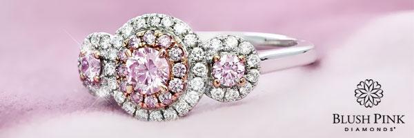 Blush Pink Diamonds